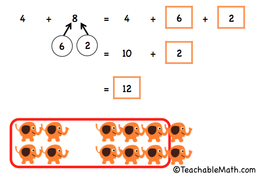 Singapore Math Adding two numbers within 20 by composing a ten