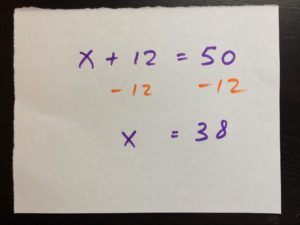 Singapore Math addition and subtraction