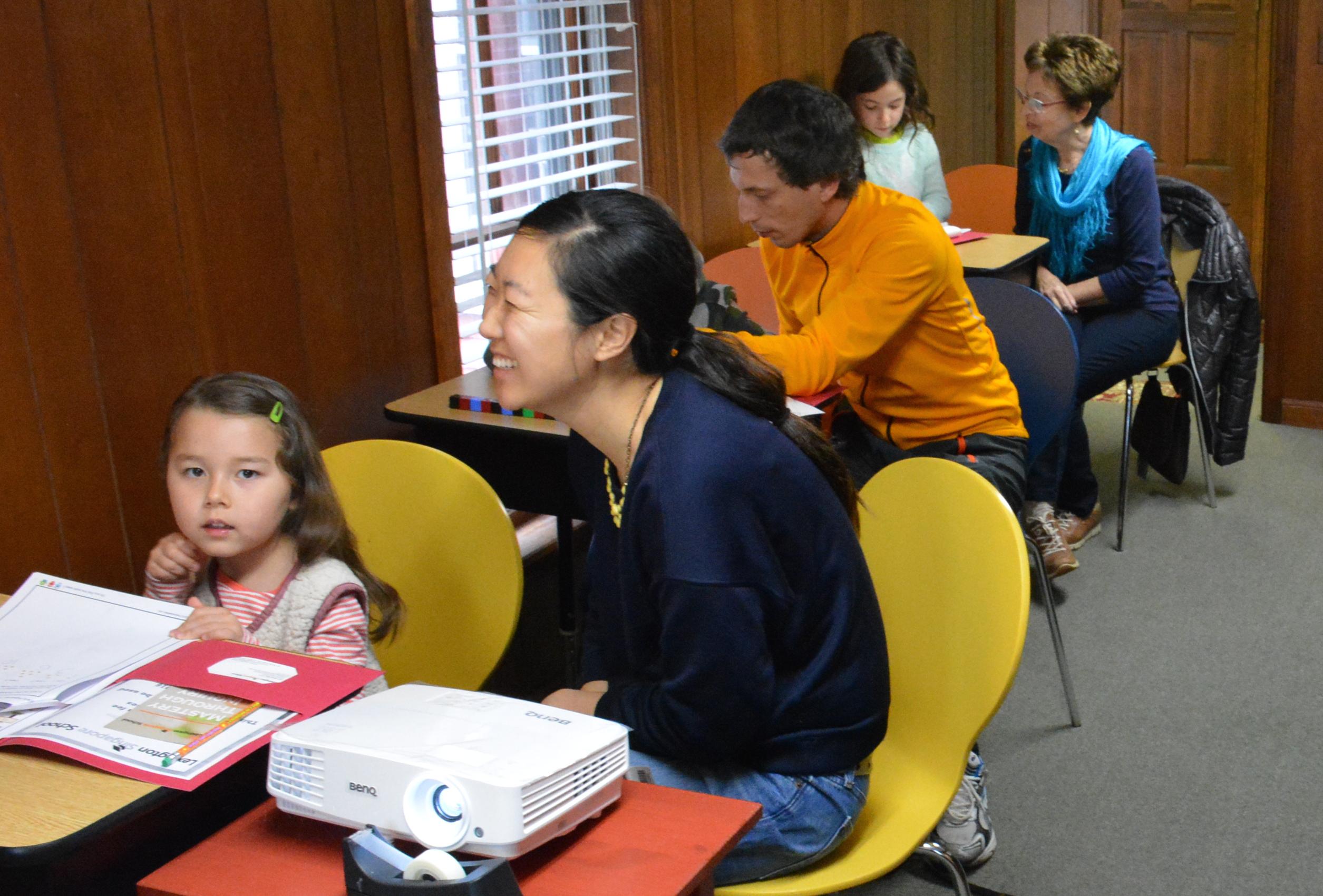 Singapore Math Parent-Chlid Workshop