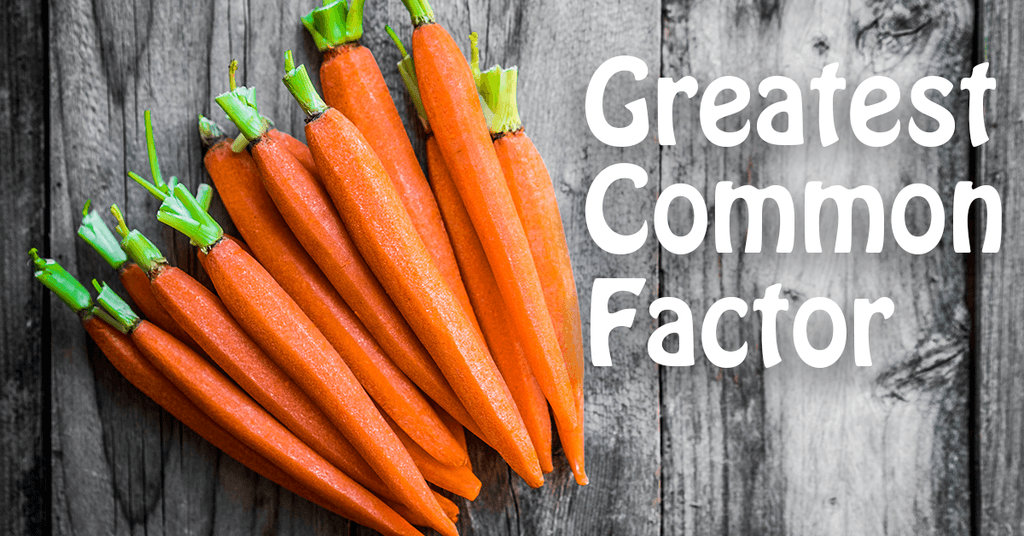 Why learn Greatest Common Factor