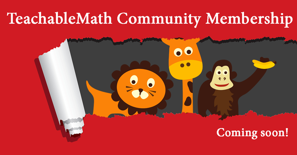 Announcing the TeachableMath Community
