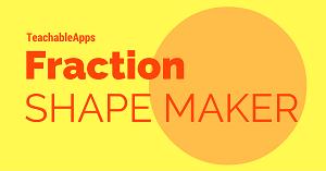 Fraction Shape Maker Icon