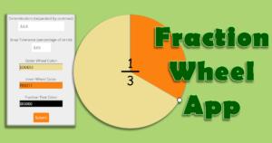 Fraction Wheel App