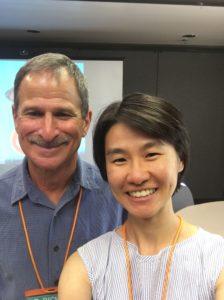 Kar Hwee Koh with Dr Richard Bisk