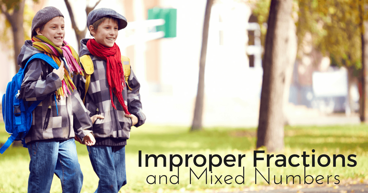 Teaching Visually – Mixed Numbers and Improper Fractions without Rules