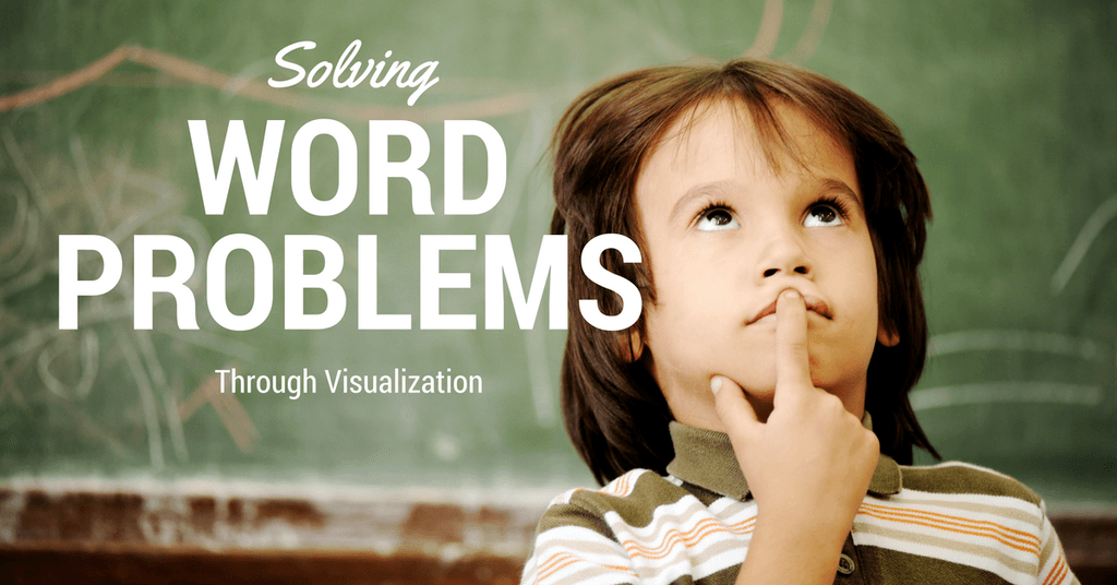 Fraction Word Problems Through Visualization