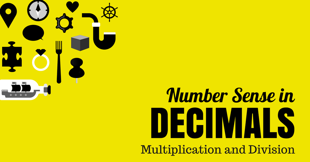 Number Sense in Decimals Multiplication and Division