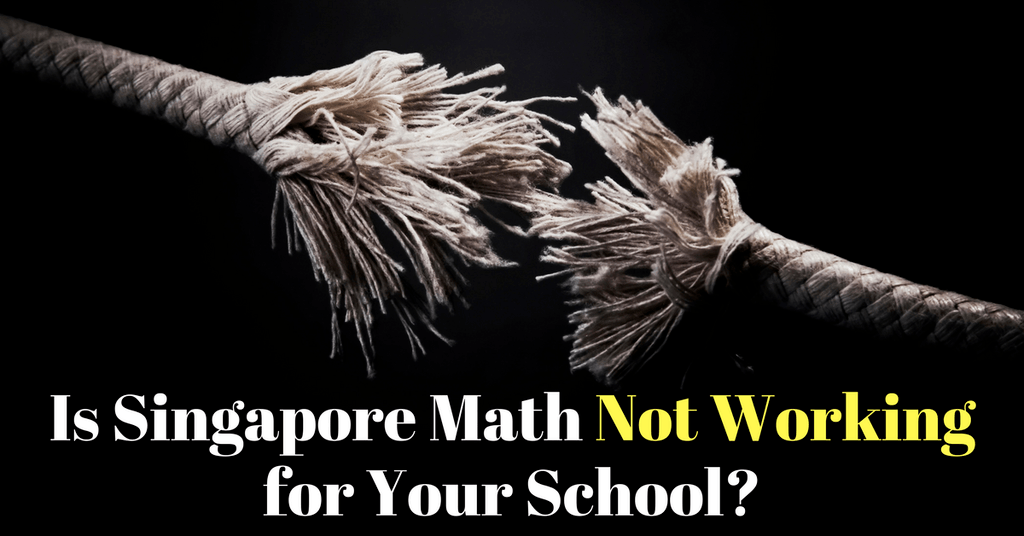 Singapore Math Not Working