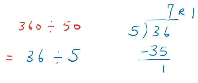 division with remainder
