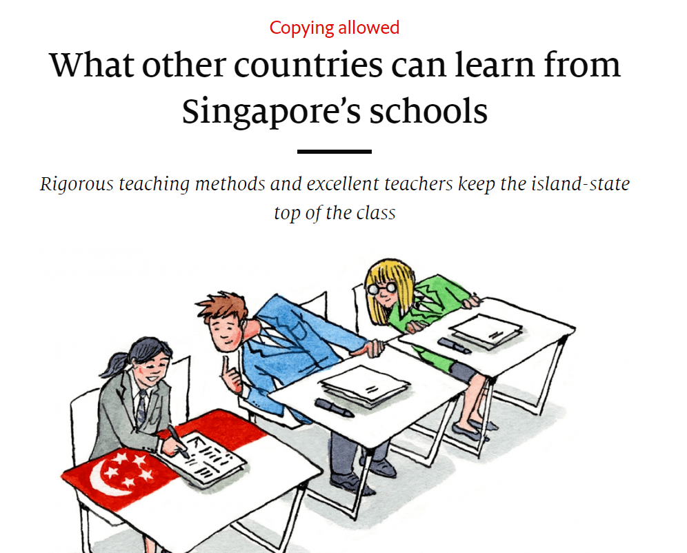 Article on Singapore math from Economist.com