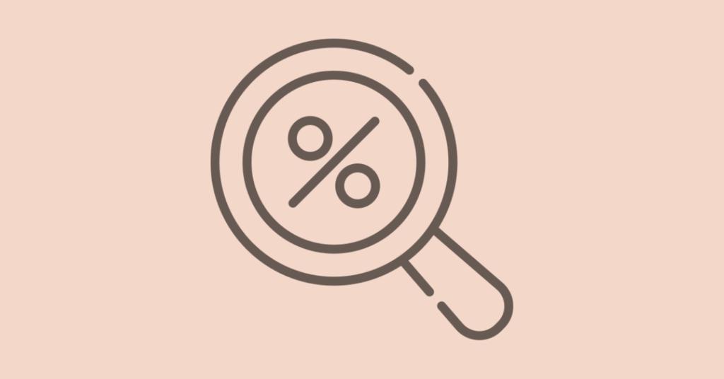 percentage conversion