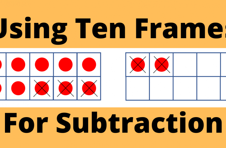 Using Ten Frames for Subtraction